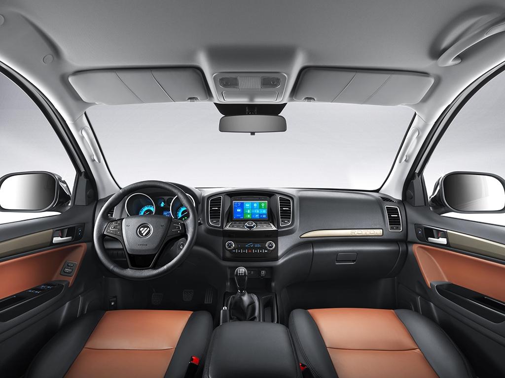 ดีไซน์ภายในรถยนต์ : Foton Tunland 2020