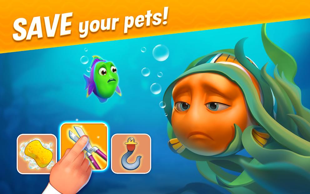 Fishdom Android App Screenshot