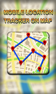 Mobile Location Tracker on Map - náhled