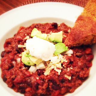 Beef Chili with Cinnamon & Chocolate