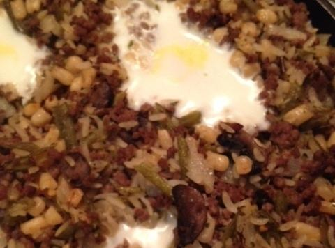 Serve and enjoy!  Note: This recipe doesn't need added salt due to the rice seasoning...
