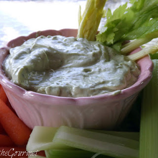 Fresh Avocado and Sour Cream Dip