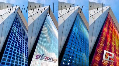 Photo: GLAVIVA - Digitaldruck auf Glas mit C2 Design • http://c2-design.glaviva.de  Glasgestaltung für Architekten 3D-Simulation: Glasfassaden digital bedruckt