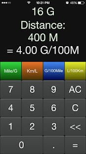 MPG Calculator- screenshot thumbnail