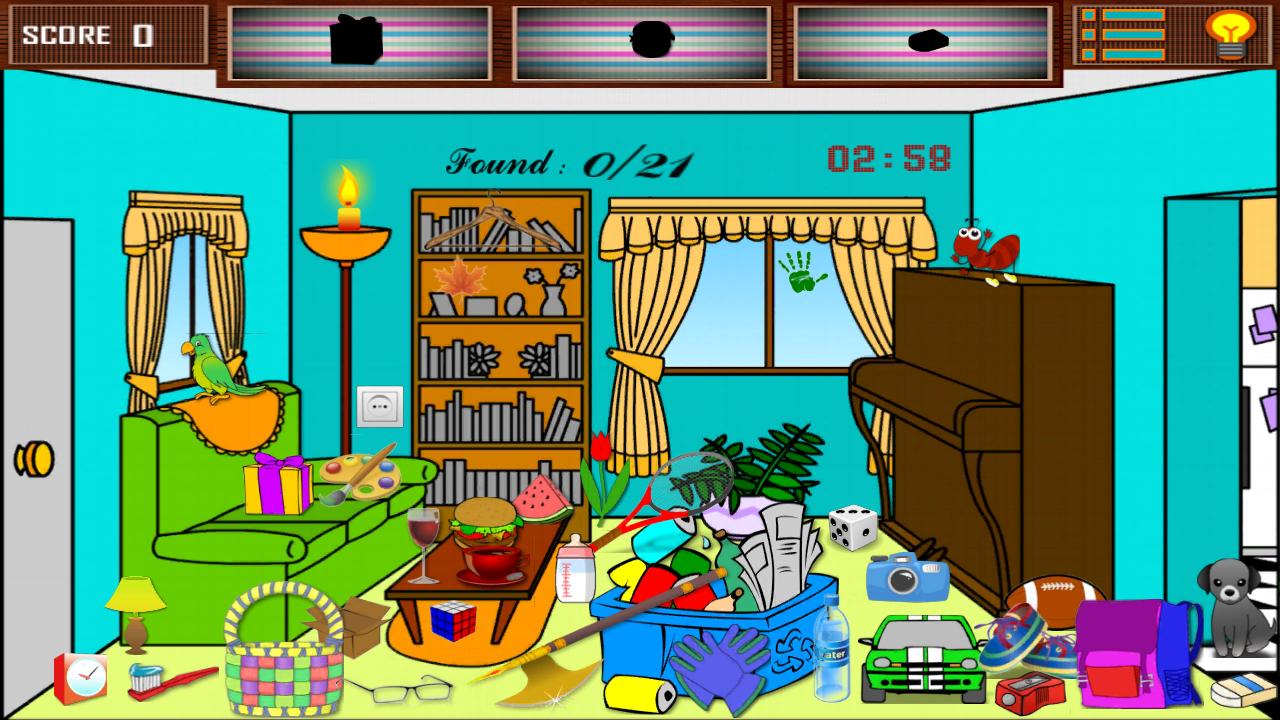 Kids Bedroom Hidden Object hidden objects kidsroom - android apps on google play