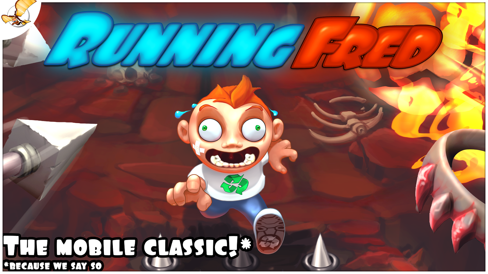 Running Fred- screenshot