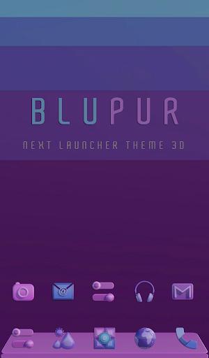 PC u7528 BLUPUR Next Launcher Theme 3D 1