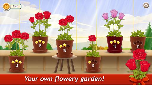 Solitaire TriPeaks Rose Garden: love flowers 2020 screenshots 2