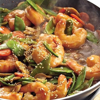 Teriyaki Shrimp Stir-Fry