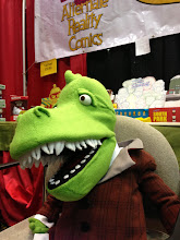Photo: Epstein the mascot of Alternate Reality Comics, one of the best comic book stores in Las Vegas.