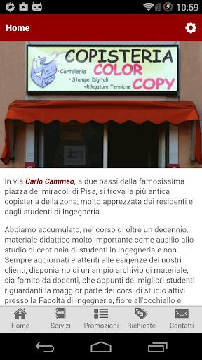 Copisteria Color Copy