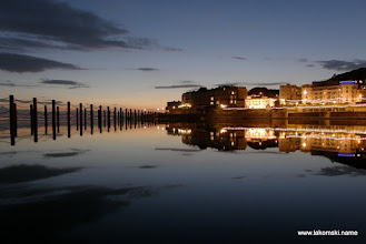 Photo: Weston-super-Mare by night