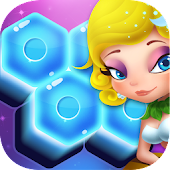 Flower Secret - Hexa Block Puzzle & Crush