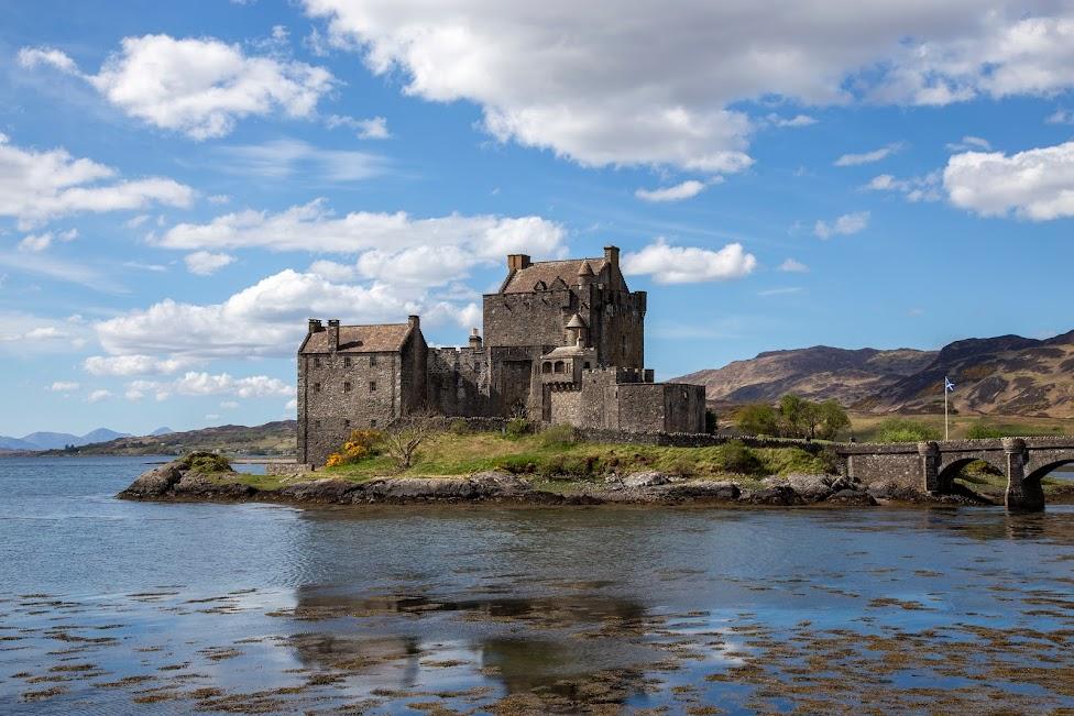 Eilean Donan, zamek, Szkocja, Idziemy Dalej w 2020