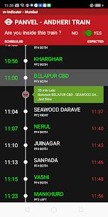 m-Indicator Apk- Mumbai – Live Train Position 2