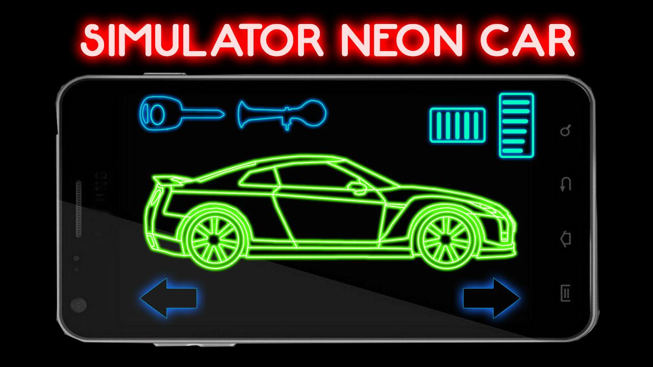 simulator neon car android apps on google play. Black Bedroom Furniture Sets. Home Design Ideas
