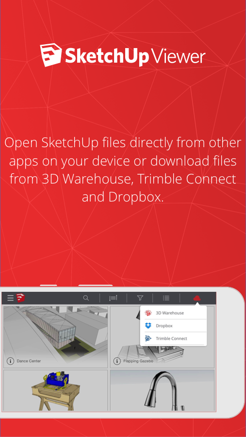 SketchUp Viewer- screenshot