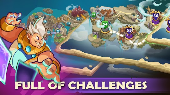 KING OF DEFENSE BATTLE FRONTIER MOD APK DOWNLOAD FREE HACKED VERSION 5