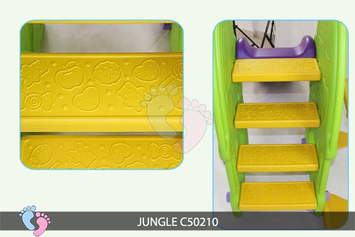 Cầu trượt cho bé Jungle C50210 11]