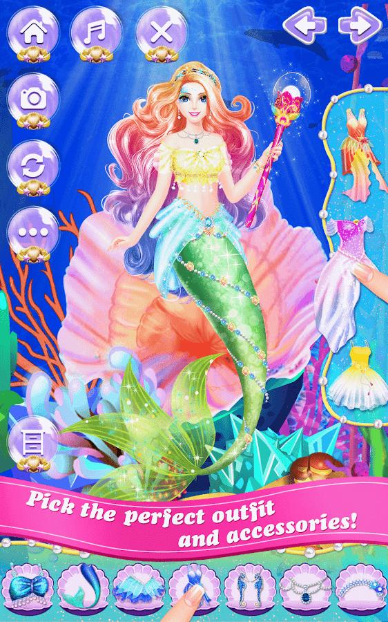 Mermaid-Princess-Beauty-Salon 24