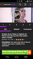 Screenshot of Telemundo Novelas