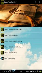 Surah Yusuf Full MP3 - náhled