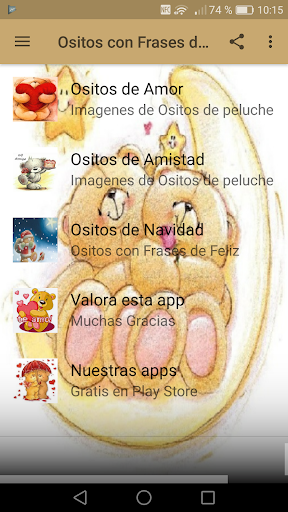Ositos Con Frases De Amor By New Generation Apps Android Google