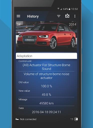 OBDeleven PRO car diagnostics app VAG OBD2 Scanner  screenshots 7