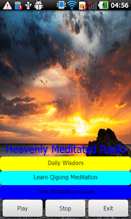 Heavenly Meditated Radio- screenshot thumbnail