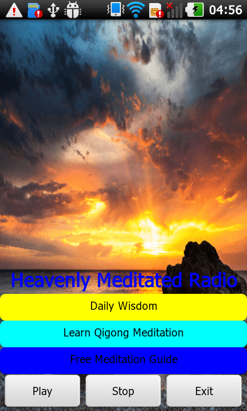 Heavenly Meditated Radio- screenshot