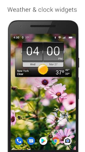 3D Flip Clock & Weather screenshot 1
