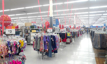 Photo: Walmart in Conroe is having a huge Clearance and even these streamers make me think pep rally!!