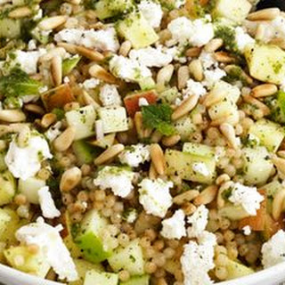 Israeli Couscous and Apple Salad.