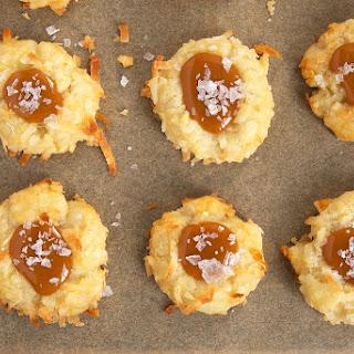 Coconut-Salted Caramel Thumbprint Cookies