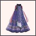 刺繍漢服-スカート