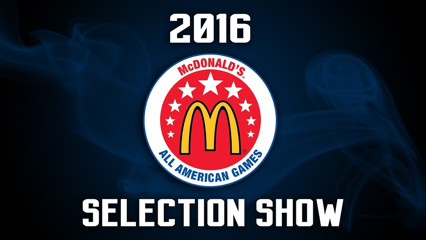 Watch 2016 McDonald's All American Selection Show live