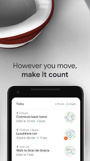Google Fit screenshot 4