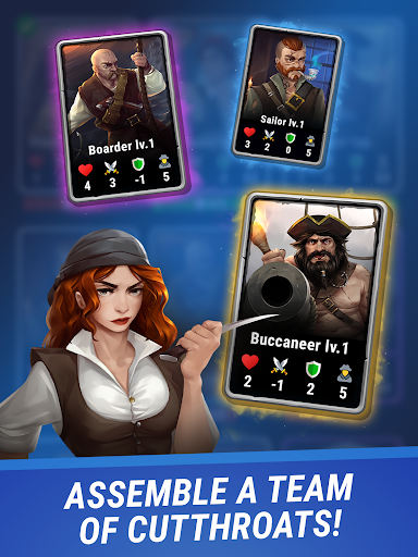 Pirates & Puzzles - PVP League apkmr screenshots 9