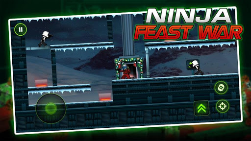 Ninja Toy Shooter - Ninja Go Feast Wars Warrior 1.0 screenshots 4