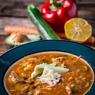 "Chicken ""Tortilla"" Soup"