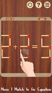 Matchstick Puzzle : Math Puzzle With Sticks 1.2