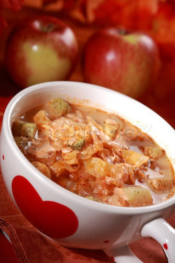 Hungarian Sweet (or Sour) Cabbage Stew Recipe