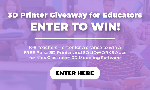MatterHackers and SOLIDWORKS Apps for Kids 3D Printer Giveaway