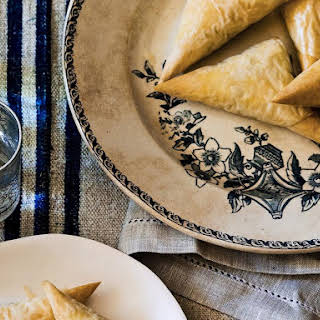Chard and Feta Pastries.