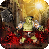 Orc Horde War: Zombie Monsters Attack Survival