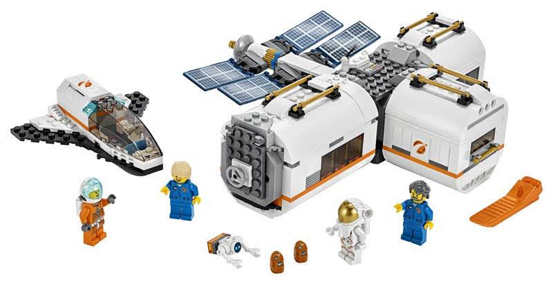 Contenido de Lego® 60227 Estación Espacial Lunar