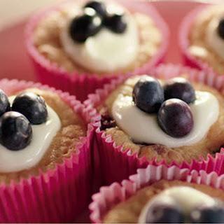 Blauwe Bessen Cupcakes Met Havermout