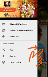 Krishna HD Wallpaper - náhled