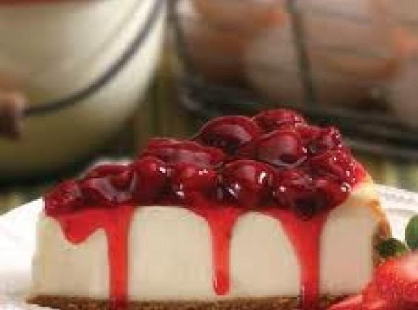 Jeannies' Magical Strawberry Cheesecake Recipe