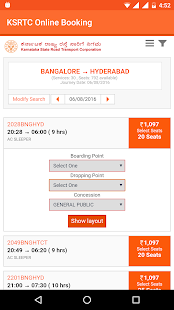Ksrtc karnataka online ticket booking